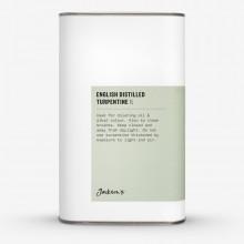 Jackson's : English : Térébenthine Distillée  1 Litre : Expédition par Voie Terrestre