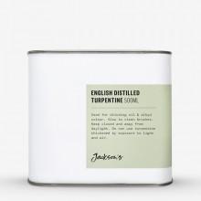 Jackson's : English : Térébenthine Distillée  500ml : Expédition par Voie Terrestre