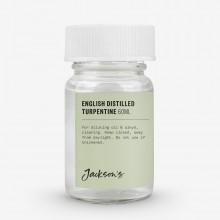 Jackson's : English : Térébenthine Distillée  60ml : Expédition par Voie Terrestre
