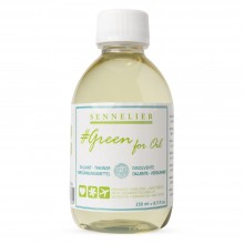 Sennelier : Green For Oil :Médium d'Affinement : 250ml
