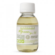Sennelier : Green For Oil : Nettoyant pour Pinceaux 100ml