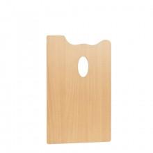 Mabef : RECTANGLE Palette en bois 20 x 30 cm (3,7 mm d'épaisseur)