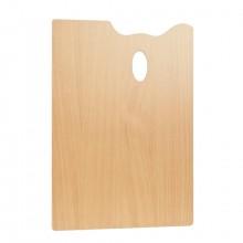 Mabef : RECTANGLE Palette en bois 30 x 40 cm (3,7 mm d'épaisseur)