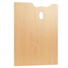 Mabef : RECTANGLE Palette en bois 30 x 45 cm (3,7 mm d'épaisseur)