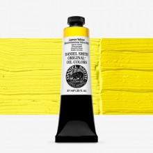Daniel Smith : Original Peinture à l'Huile : 37ml : Lemon Yellow