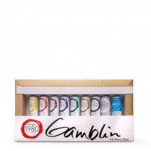 Gamblin : 1980 Oil Paint : 37ml : Introductory Set of 9