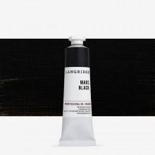 Langridge : Peinture à l'Huile: 40ml : Mars Black
