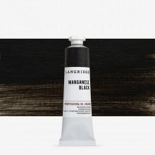 Langridge : Oil Paint : 40ml : Manganese Black