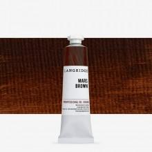 Langridge : Peinture à l'Huile: 40ml : Mars Brown