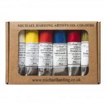 Michael Harding : Peinture à l'Huile: Masters Set (Portrait Set II MineFree) : 6x40ml: