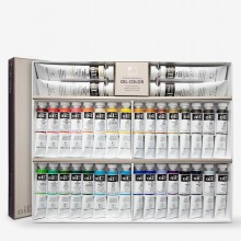ShinHan : Peinture à l'Huile: Lot  20ml x 32 colours & 4 x 50ml Blanc
