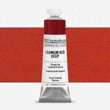 Williamsburg : Peinture à l'Huile: 37ml :Cadmium Red Deep