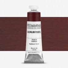 Williamsburg huile couleur 37ml Cadmium pourpre