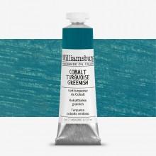 Williamsburg : Peinture à l'Huile: 37ml :Cobalt Turquoise Greenish