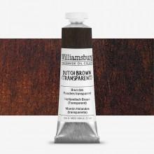 Williamsburg : Peinture à l'Huile: 37ml :Dutch Brown (Transparent)