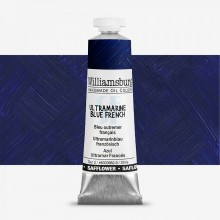 Williamsburg : Oil Paint : 37ml : Safflower Ultramarine Blue French