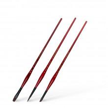 Panart : Interlocked Synthetic : Acrylic Brush Sets