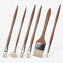 Winsor & Newton : Artists' Oil : Synthetic Hog Brushes