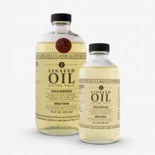 Chelsea Classical Studio : Clarified Extra Pale Cold Pressed Linseed Oil