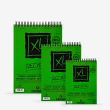 Canson : XL : Recycled : Spiral Pad : 160gsm