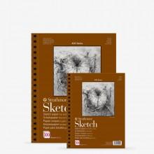 Strathmore : 400 Series : Spiral Sketch Pad : 89gsm : 100 Sheets