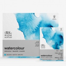 Winsor & Newton : Classic : Watercolour Paper : Gummed Pads : 300gsm : 12 Sheets : Cold Pressed