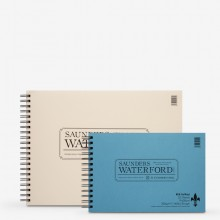 Saunders Waterford : Watercolour Paper Spiral Fat Pads