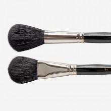 Silver Brush : Black Goat Hair Mop Brush