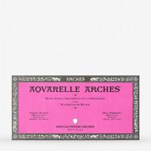 Arches : Aquarelle : Bloc : 16x30cm : 20 Feuilles : Encollé : Grain Satiné