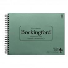 Bockingford : Bloc avec Spiral Encollé : 300gsm :30x40cm : 25 Feuilles : Grain Torchon