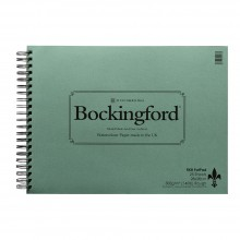 Bockingford papier aquarelle Spiral Fat Pad 11X15in rugueux - 25 feuilles