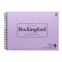 Bockingford : Spirale de garniture : 200lb (425 g/m²): 20 s: surface rugueuse : 11x15in