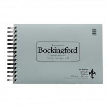 Bockingford : Grosse garniture spirale 7.5X11in non : 25 ans : 140lb (300 g/m²): fil lié sur côté court - 25 s