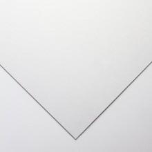 Crescent : Tableau Oeuvre d'Art  : Marqueur Blanc : Blanc Cassé : Grain Satiné : A Moyen Grammage : 50x76cm (215.6)