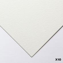 Canson : Heritage : Papier Aquarelle : 56x76cm : 300gsm : Grain Torchon : 10 Feuilles