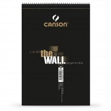 Canson :The Wall : Marqueur Bloc de Papier : A3+ : 220gsm : 30 Feuilles