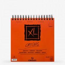 Canson : XL : Croquis : Spiral Pad : 90gsm : 120 Sheets : 30x30cm