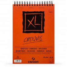 Canson : XL : Croquis : Spiral Pad : 90gsm : 60 Sheets: A2