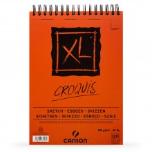 Canson : XL : Croquis : Spiral Pad : 90gsm : 120 Sheets : A3
