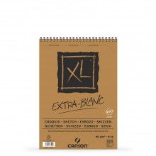 Canson : XL : Croquis : Extra White : Spiral Pad : 90gsm : 60 Sheets : A5