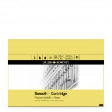 Daler Rowney : Surface Lisse : Cartridge Pad: 130g : 30 Feuilles :Sans Acide: A1