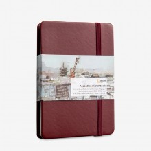 Etchr : Accordion Sketchbook : 220gsm : 9.5x14.5cm : Hot Pressed