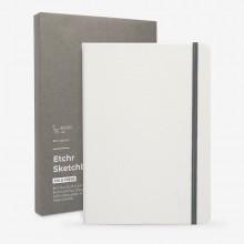 Etchr : Portrait Sketchbook : 100% Cotton : 230gsm : B5 : Cold Pressed