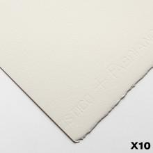 Fabriano : Artistico : 300g : 56x76cm : 10 Feuilles : Traditionnel : Grain Fin