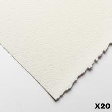 Fabriano : Artistico : 300g : 56x76cm : 20 Feuilles : Traditionnel : Grain Torchon
