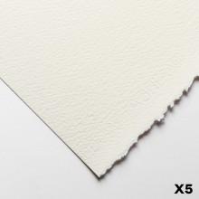 Fabriano : Artistico : 300g : 56x76cm : 5 Feuilles : Traditionnel : Grain Torchon