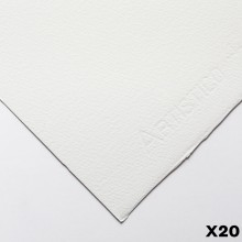 Fabriano : Artistico : 300g : 56x76cm : 20 Feuilles : Très Blanche : Grain Fin