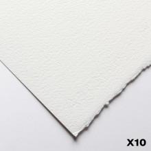 Fabriano : Artistico : 300g : 56x76cm : 10 Feuilles : Très Blanche : Grain Torchon