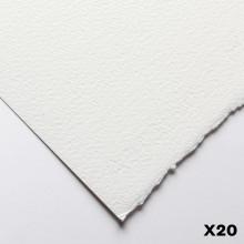 Fabriano : Artistico : 300g : 56x76cm : 20 Feuilles : Très Blanche : Grain Torchon