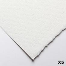Fabriano : Artistico : 300g : 56x76cm : 5 Feuilles : Très Blanche : Grain Torchon